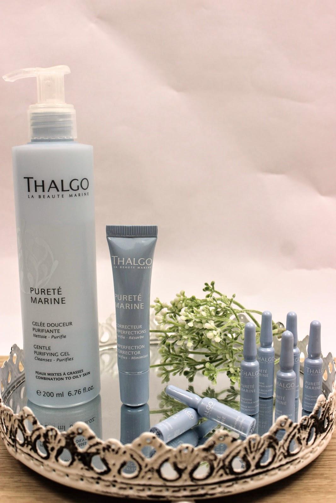 produits beauté et soin Thalgo Les petites bulles de ma vie