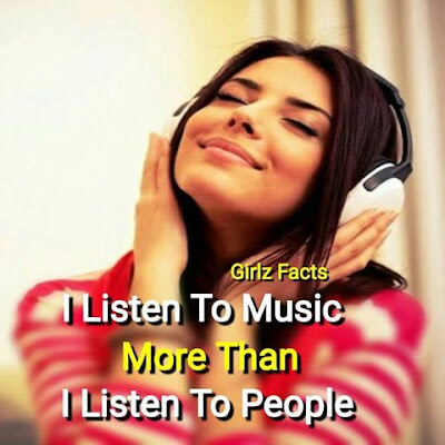 I Listen To Music More Than I Listen To People 😏