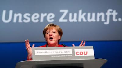Angela Merkel, Németország, menekültválság, illegális bevándorlás, migráció, CDU, Essen