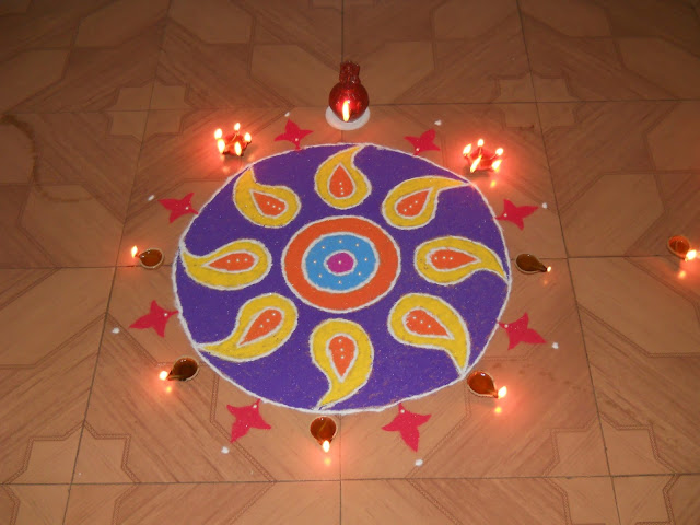 best rangoli for diwali