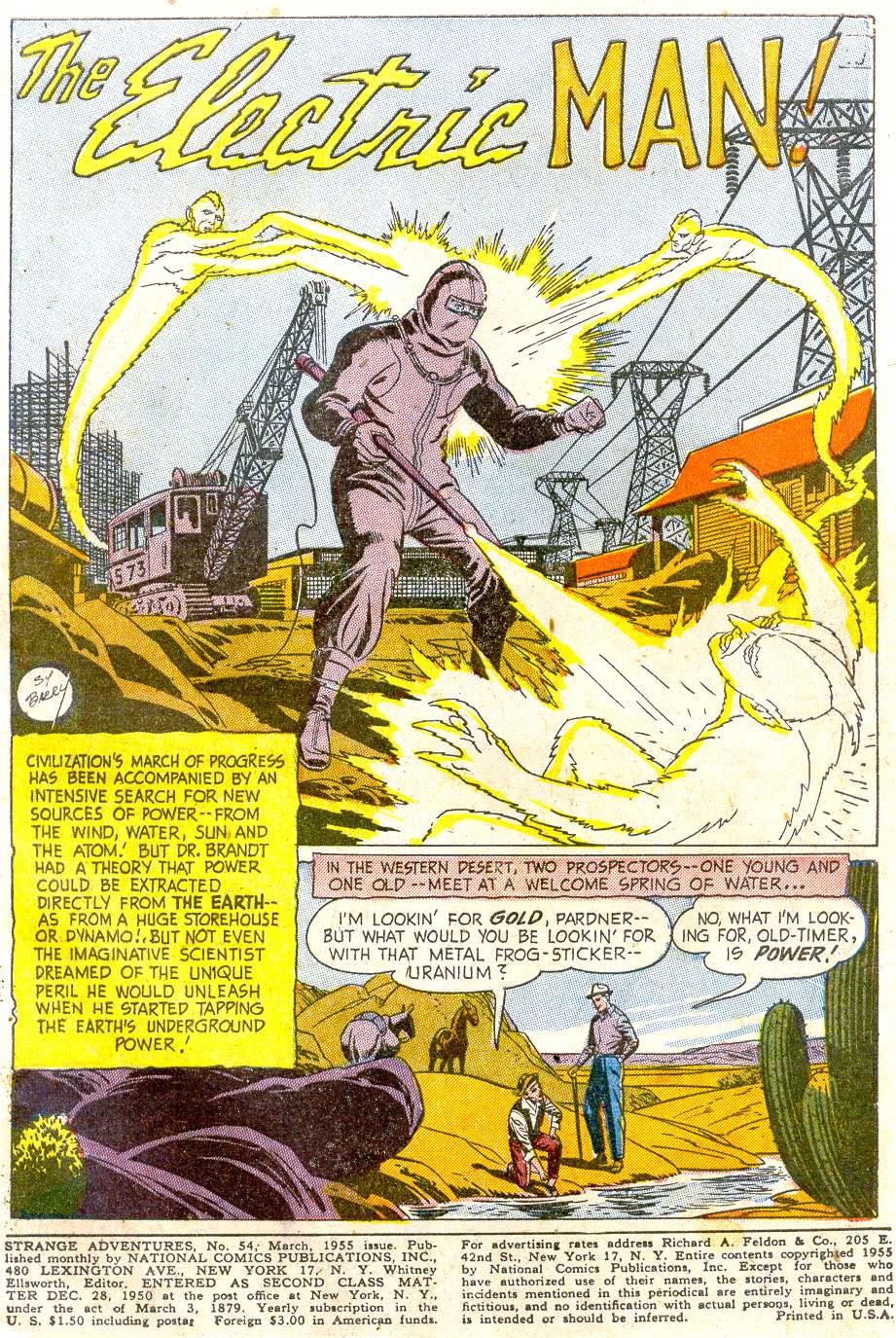 Strange Adventures (1950) issue 54 - Page 3