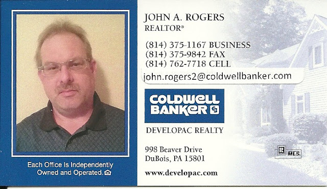 John  A Rogers Coldwell Banker Developac Realty Clearfield County Marcellus PA