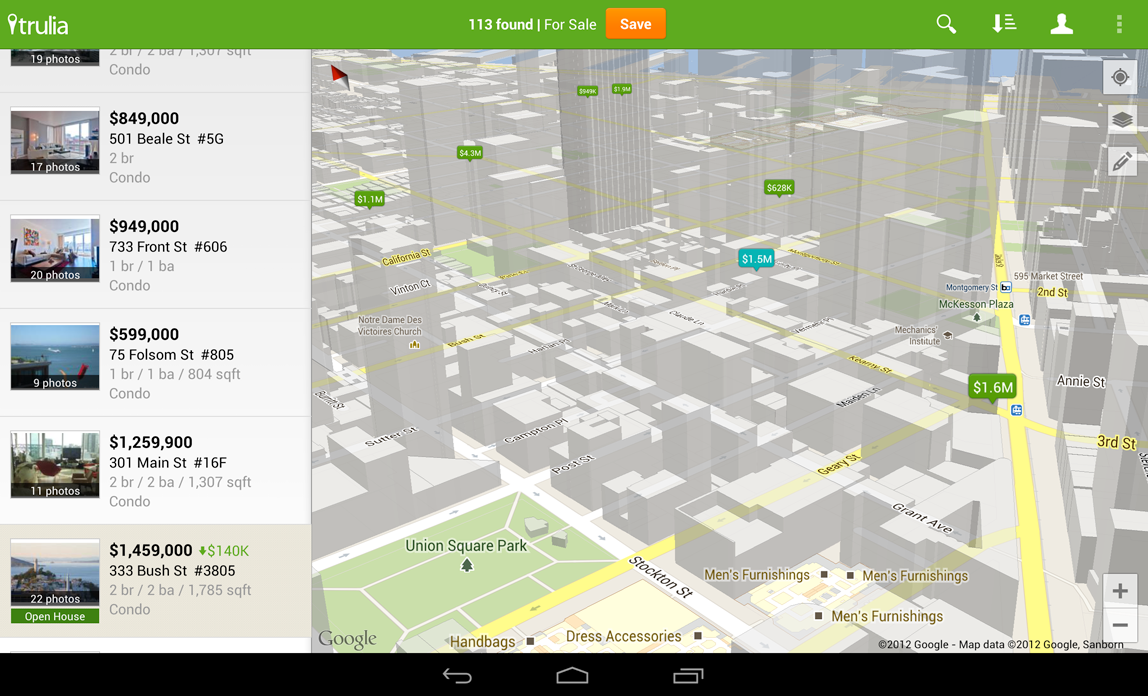 Android Developers Blog: New Google Maps Android API now