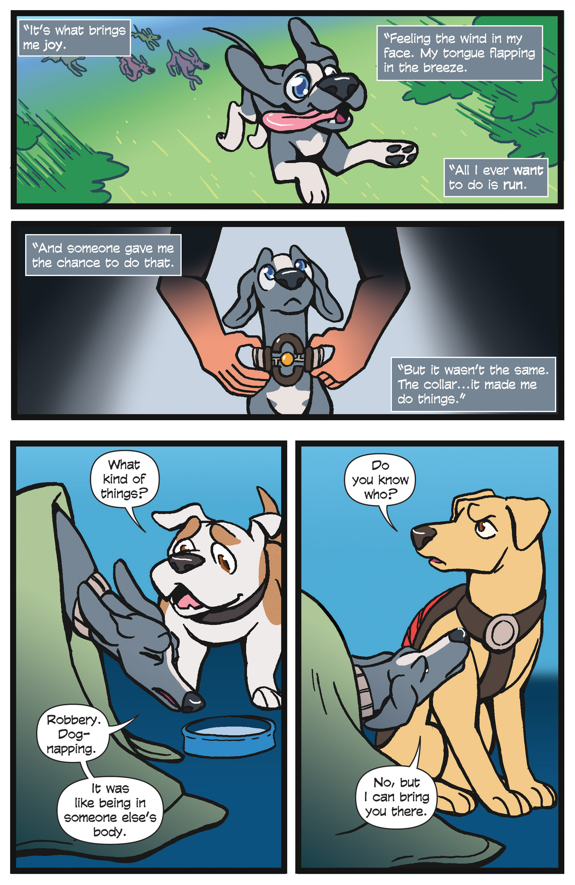 Read online Action Lab, Dog of Wonder comic -  Issue #4 - 18