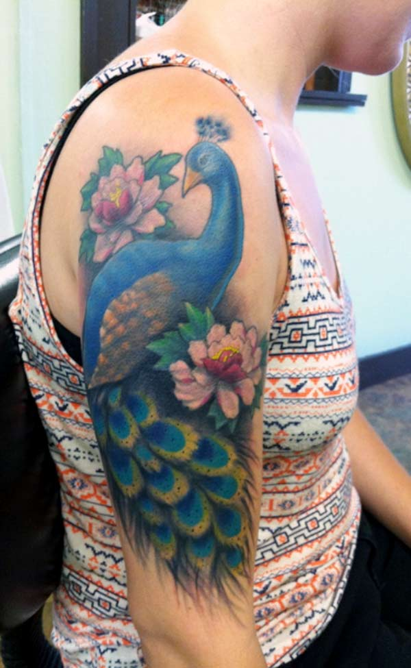 Peacock Tattoo: Tattoos Design Ideas: 32 Best And Attractive Peacock