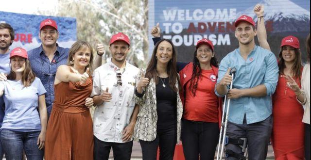 6 deportistas lideran campaña para impulsar el turismo aventura