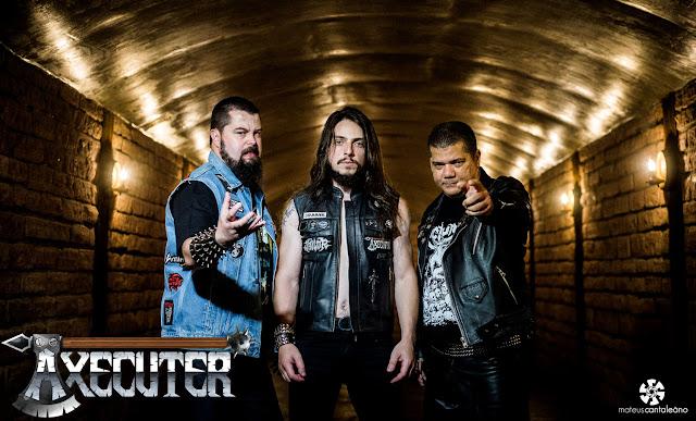 """Axecuter: banda está presente na """"Hellfire - A Brazilian Tribute To Sabbat"""", confira capa e tracklist!"""