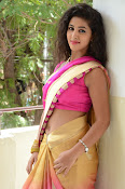 pavani new photos in saree-thumbnail-11