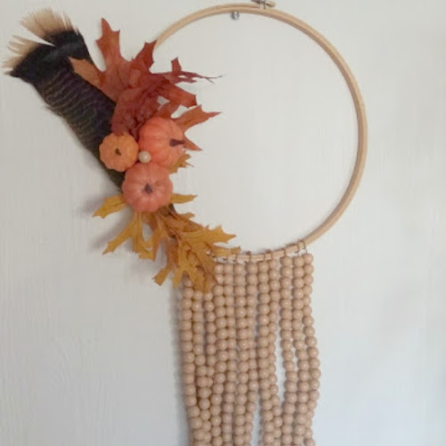 DIY Boho Fall Wreath