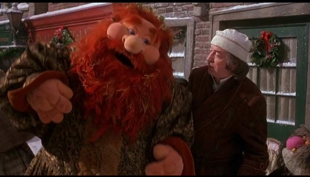 Muppet Christmas Carol Ghost Of Christmas Present.Where There Had Been Darkness The Muppet Christmas Carol