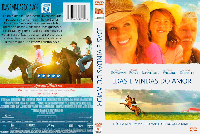 Capa DVD Idas E Vindas Do Amor