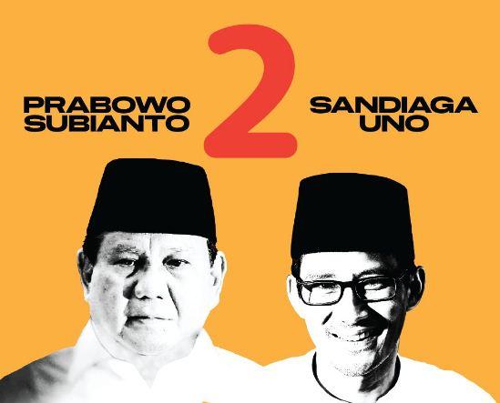 Nomor Urut Capres-Cawapres 2019: Jokowi-Maruf 1, Prabowo-Sandi 2