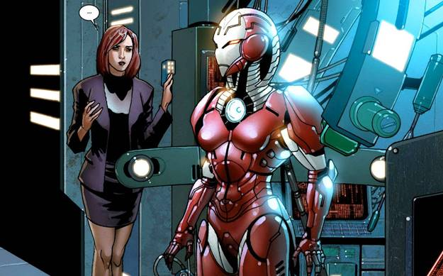 Sejarah dan Kekuatan Rescue Armor (Iron Man Mark 1616) dari Marvel Comics