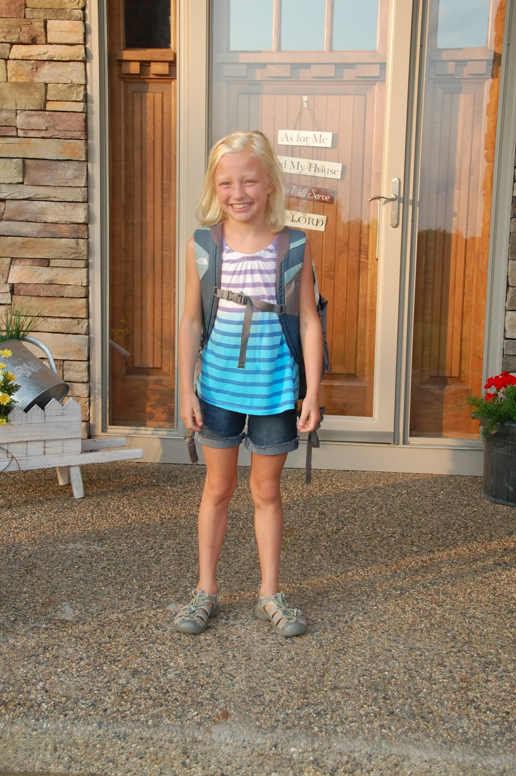 Blog: Eidsness Family Blog: First Day Of School 2013