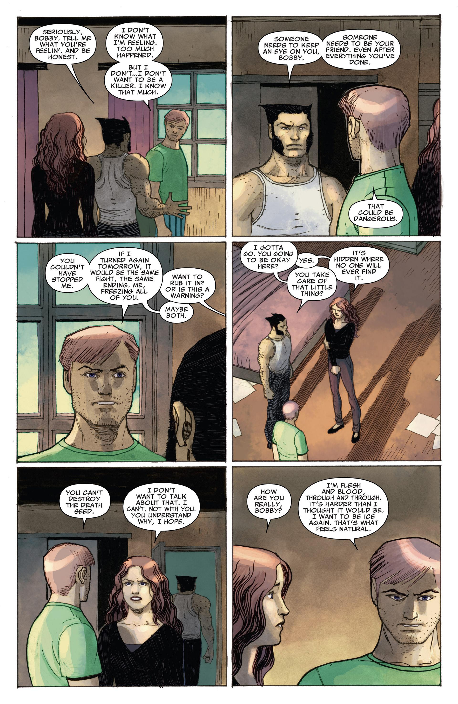 Read online Astonishing X-Men (2004) comic -  Issue #65 - 21