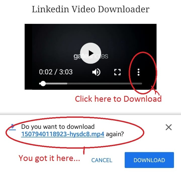 How to Download LinkedIn Video on Android App Easy Tricks