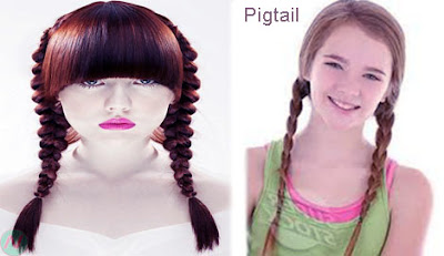 pigtail, pigtail hairstyle