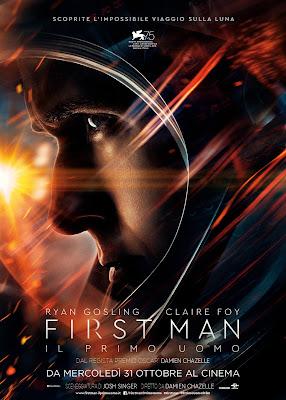 Il Primo Uomo Poster Ita