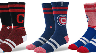 Get Your Game On With These Trendy World Series Socks