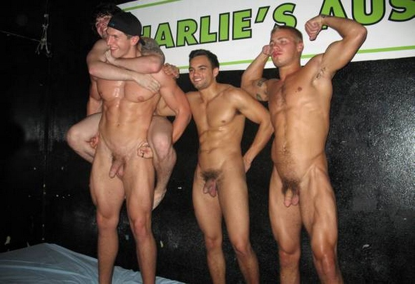 Gay male nude strippers