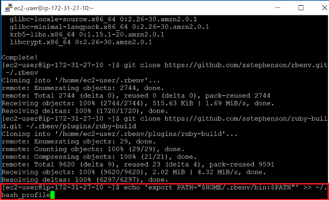 Amazon Linux 2 パス追記