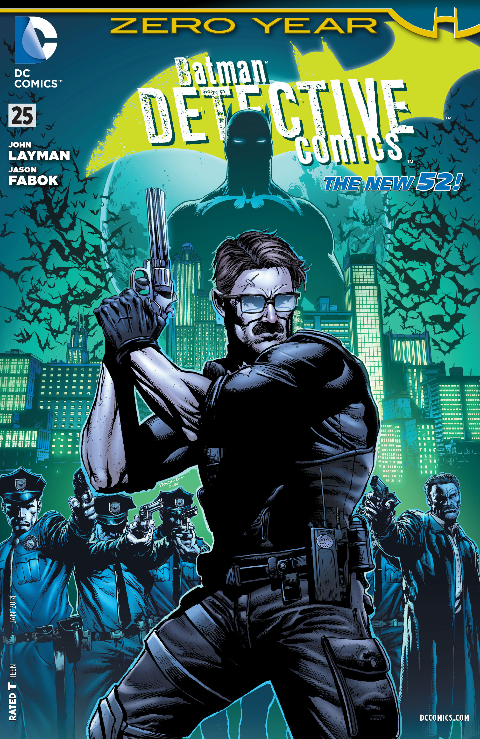 Detective Comics (2011) 25 Page 1