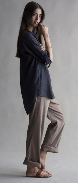 como usar ropa suelta con estilo