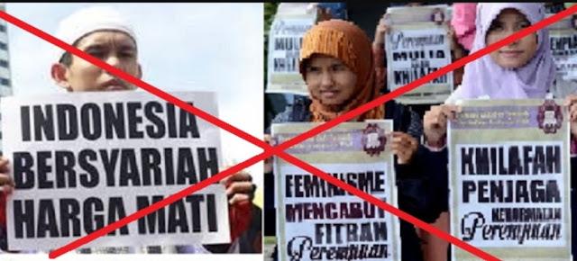 Prabowo 'Kawin' dengan Pro Khilafah, Kita Tak Boleh Diam