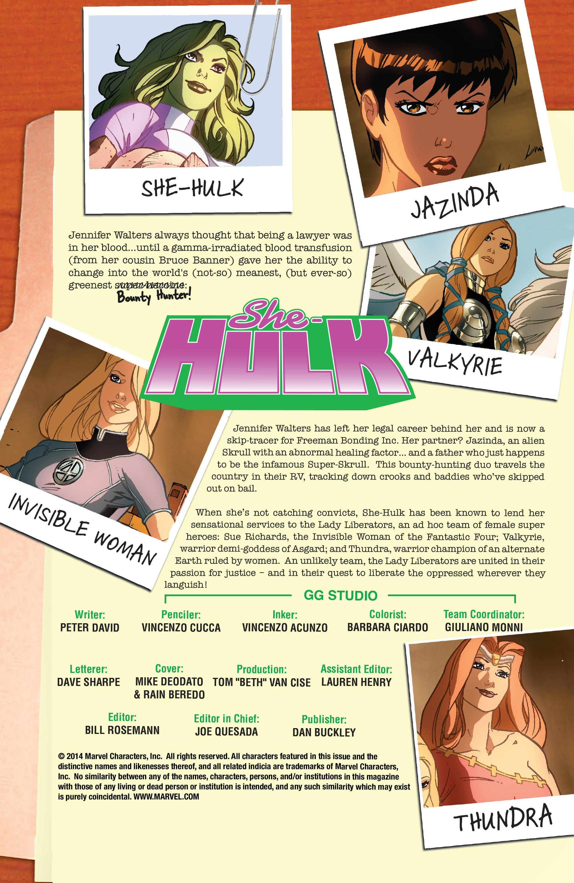 Read online She-Hulk (2005) comic -  Issue #34 - 2