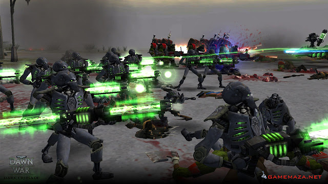 Warhammer 40000 Dawn of War Dark Crusade Gameplay Screenshot 4