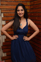 Radhika Mehrotra in a Deep neck Sleeveless Blue Dress at Mirchi Music Awards South 2017 ~  Exclusive Celebrities Galleries 096.jpg
