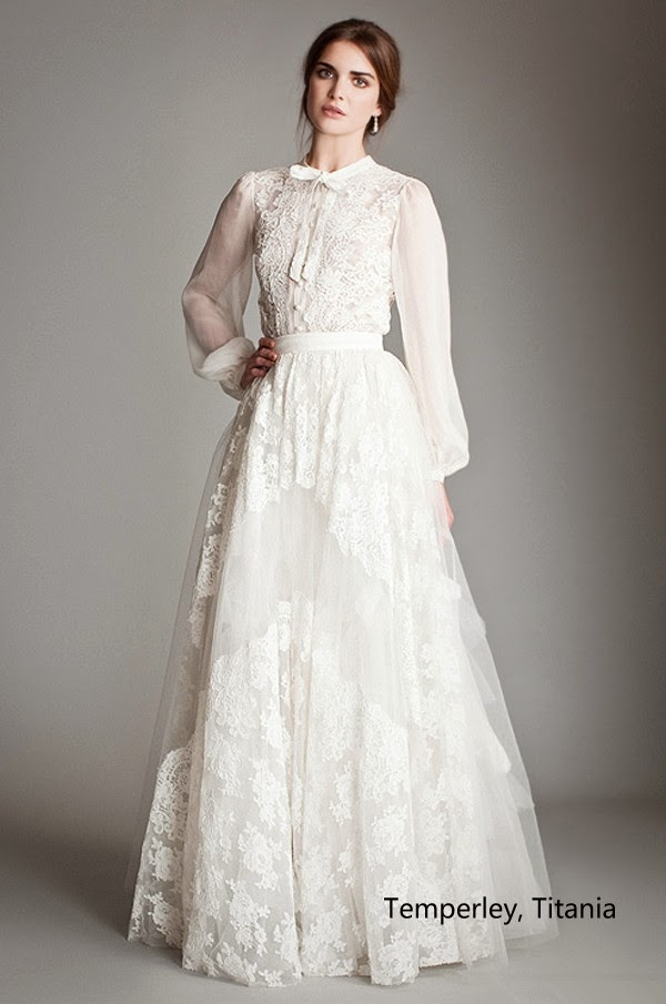 Leg Of Mutton Sleeves Lace Collar And Simple Lines Those Are So Beautiful It Is Have To Worried About That Such A Vintage Style Wedding Gown