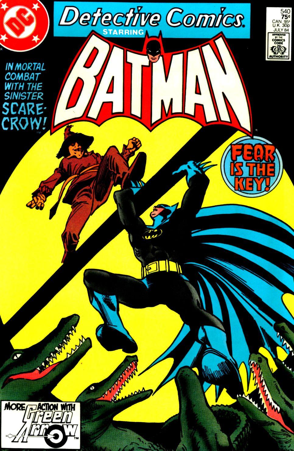 Detective Comics (1937) 540 Page 1