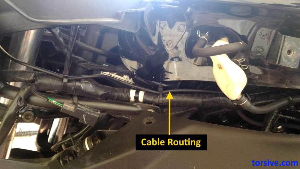 kawasaki ninja wiring harness routing kawasaki ninja 300 gear indicator installation and review torsive  kawasaki ninja 300 gear indicator