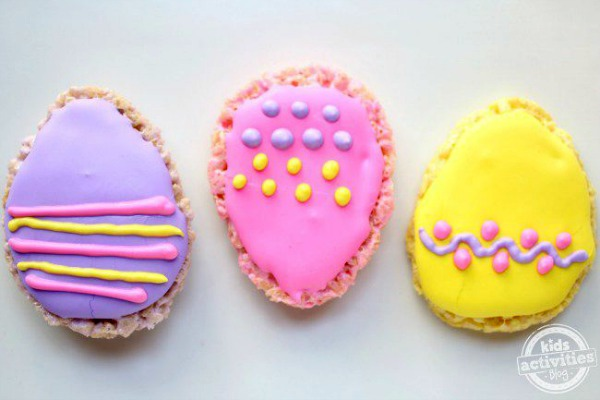 Crispy Rice Easter Egg Treats from Kids Activities Blog
