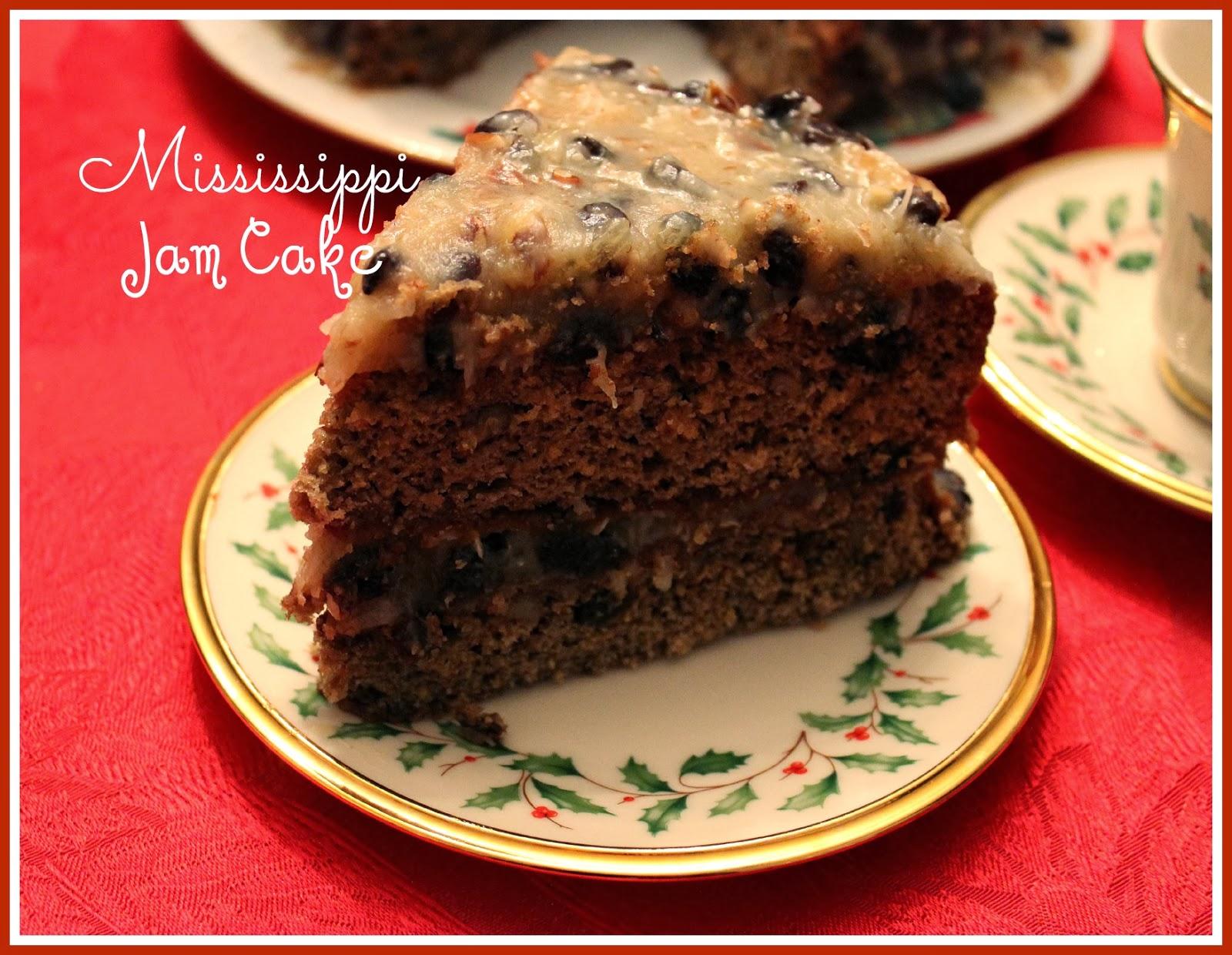 Jelly Cake Recipe Video: Sweet Tea And Cornbread: Aunt Tootsie's Mississippi Jam Cake