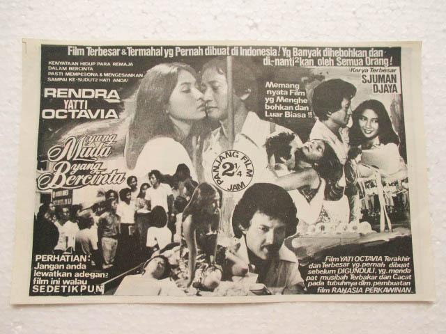 Selamat Datang Di Tonys Antiques 8 Lembar Iklan FILM Th