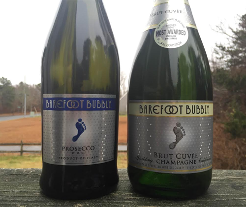 Barefoot Bubbly Prosecco & Brut Cuvée