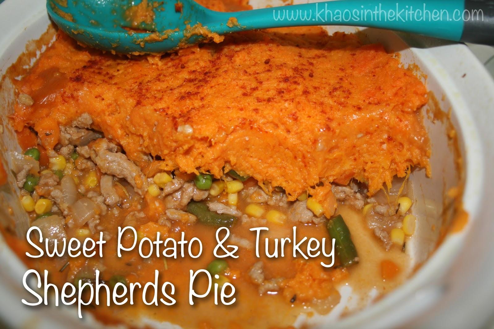A Little Colorful Chaos: {Recipe} Sweet Potato Turkey ...