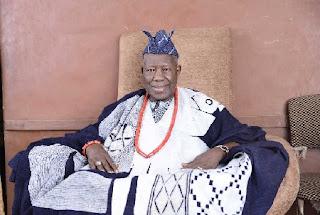 The Olubadan of Ibadan land, Oba Saliu Adetunji