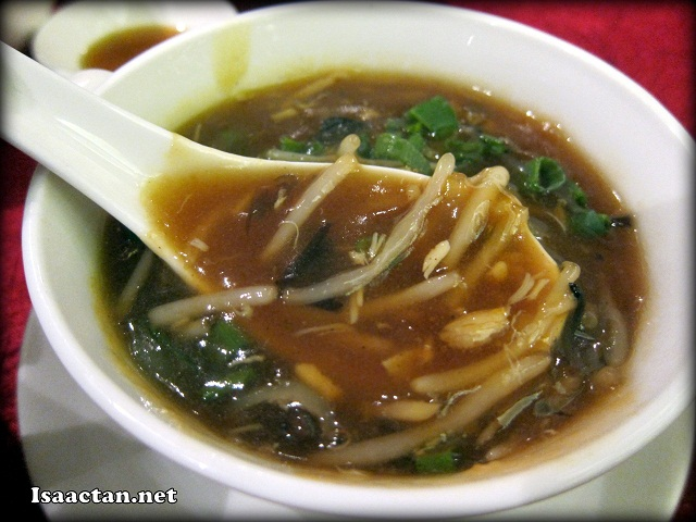 #1 Sichuan Hot and Sour Soup - RM20