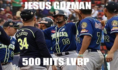 VIDEO HISTORICO: Hit 500 de Jesus Guzman en el Beisbol Venezolano - LVBP ...