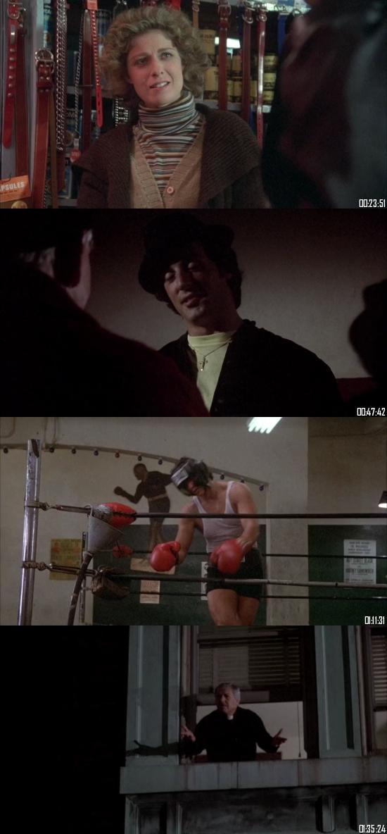 Rocky II (1979) BluRay 720p 480p Dual Audio Hindi English Full Movie Download