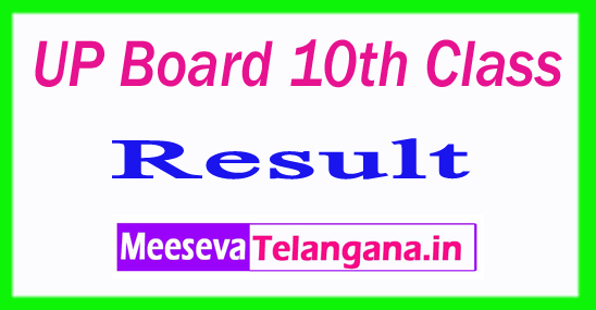 UP Board 10th Class Result