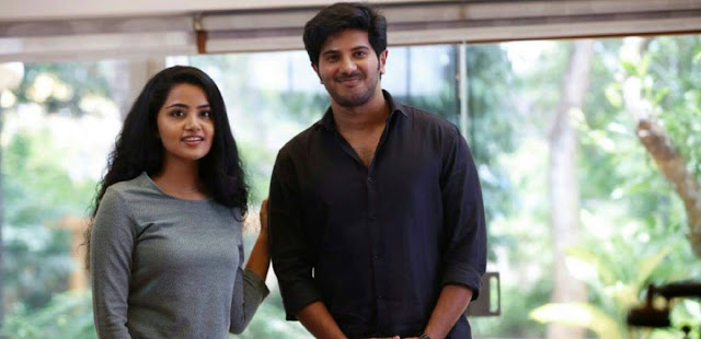Anupama Parameshwaran with Dulquar