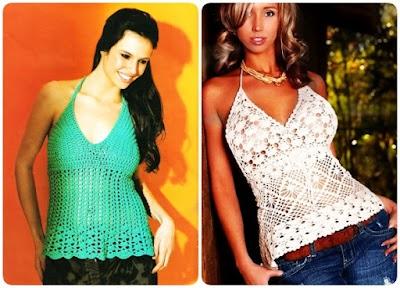 2 Tops Crochet Hilda Patron