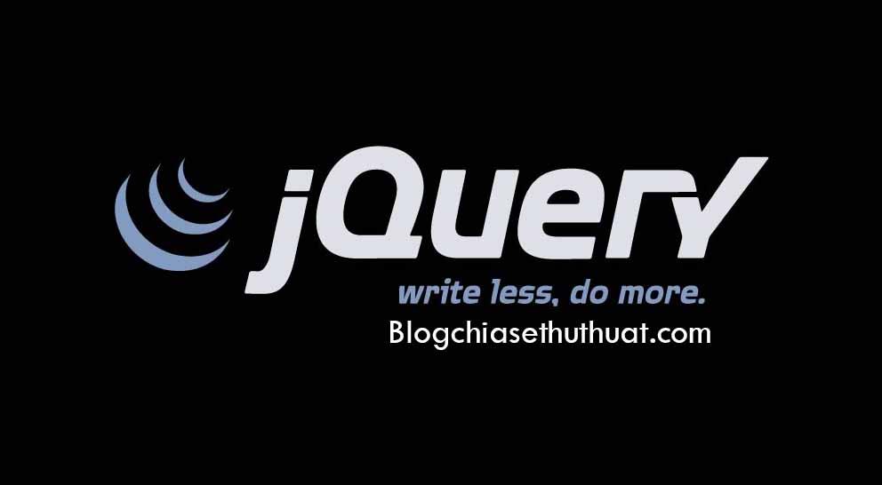 Hướng dẫn thêm thư viện Jquery vào Blogspot/Blogger