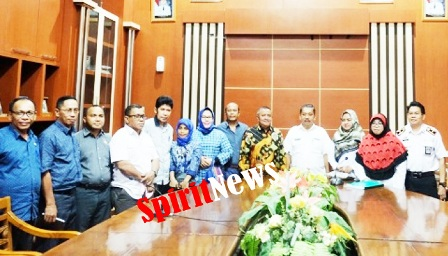 Pemkab Takalar, Menerima Kunker Anggota DPRD Kab Buton Selatan