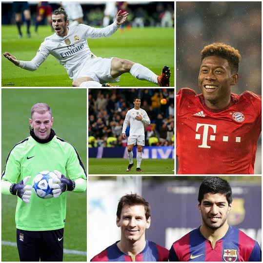 Ronaldo, Messi, Luis Suarez & Neymar Top UEFA Team Of The Year 40-Man List