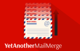 How to use Yet Another Mail Merge to create Gmail merged e-mails.